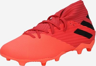 Futbolo bateliai 'Nemeziz 19.3' iš ADIDAS PERFORMANCE , spalva - oranžinė / koralų splava / raudona / pastelinė raudona / juoda, Prekių apžvalga