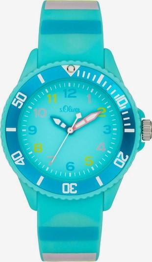 s.Oliver Quarzuhr 'SO-4004-PQ' in blau / türkis / hellblau, Produktansicht