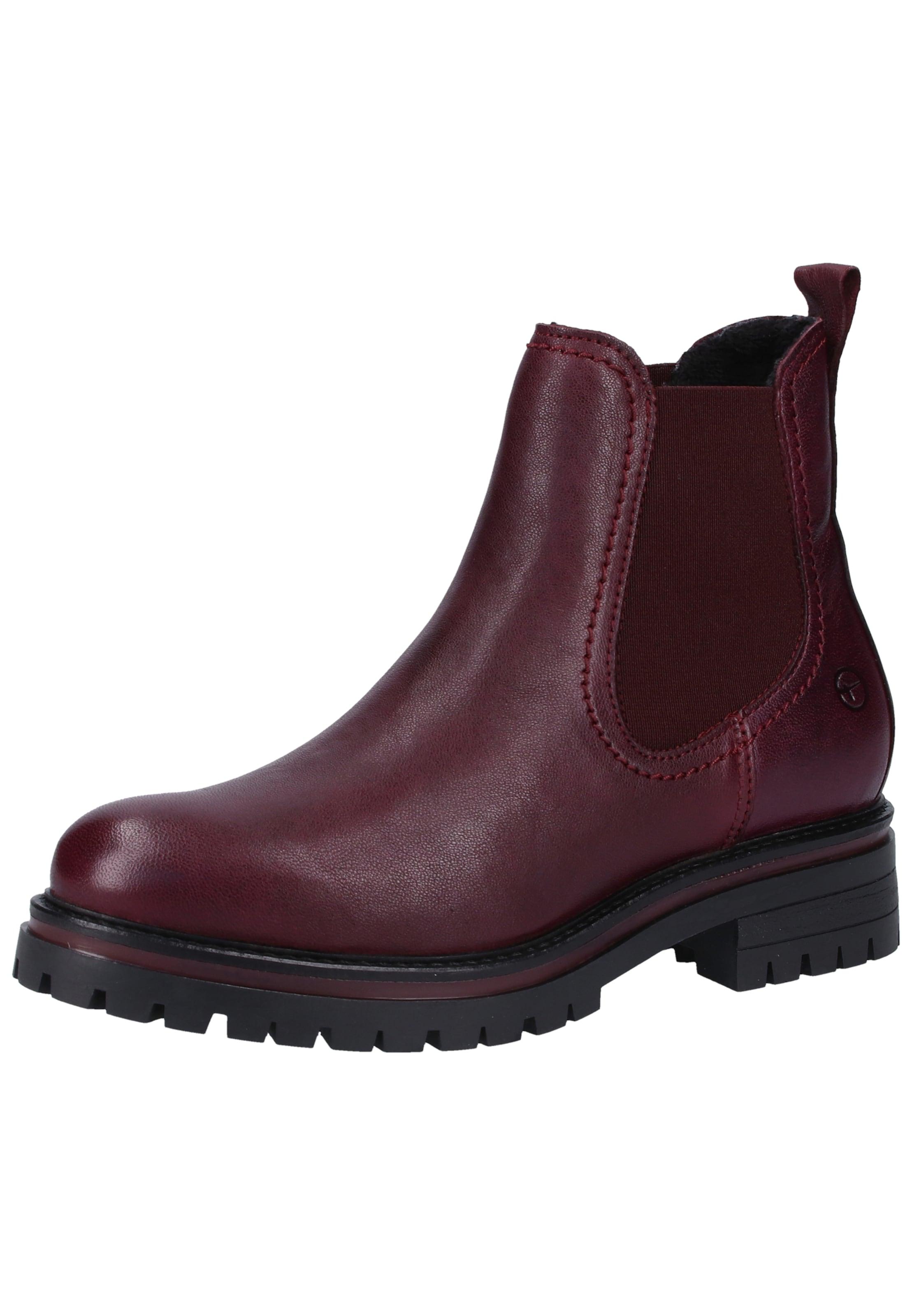 Rouge Boots Tamaris Tamaris Chelsea Boots En Chelsea wNm8n0v