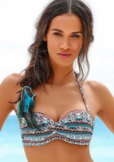 LASCANA Bikini top 'Marrakesh' in mixed colours, View model
