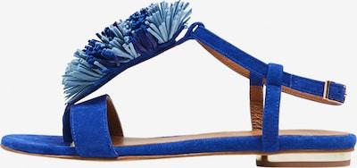 MYMO Sandales en bleu: Vue de face