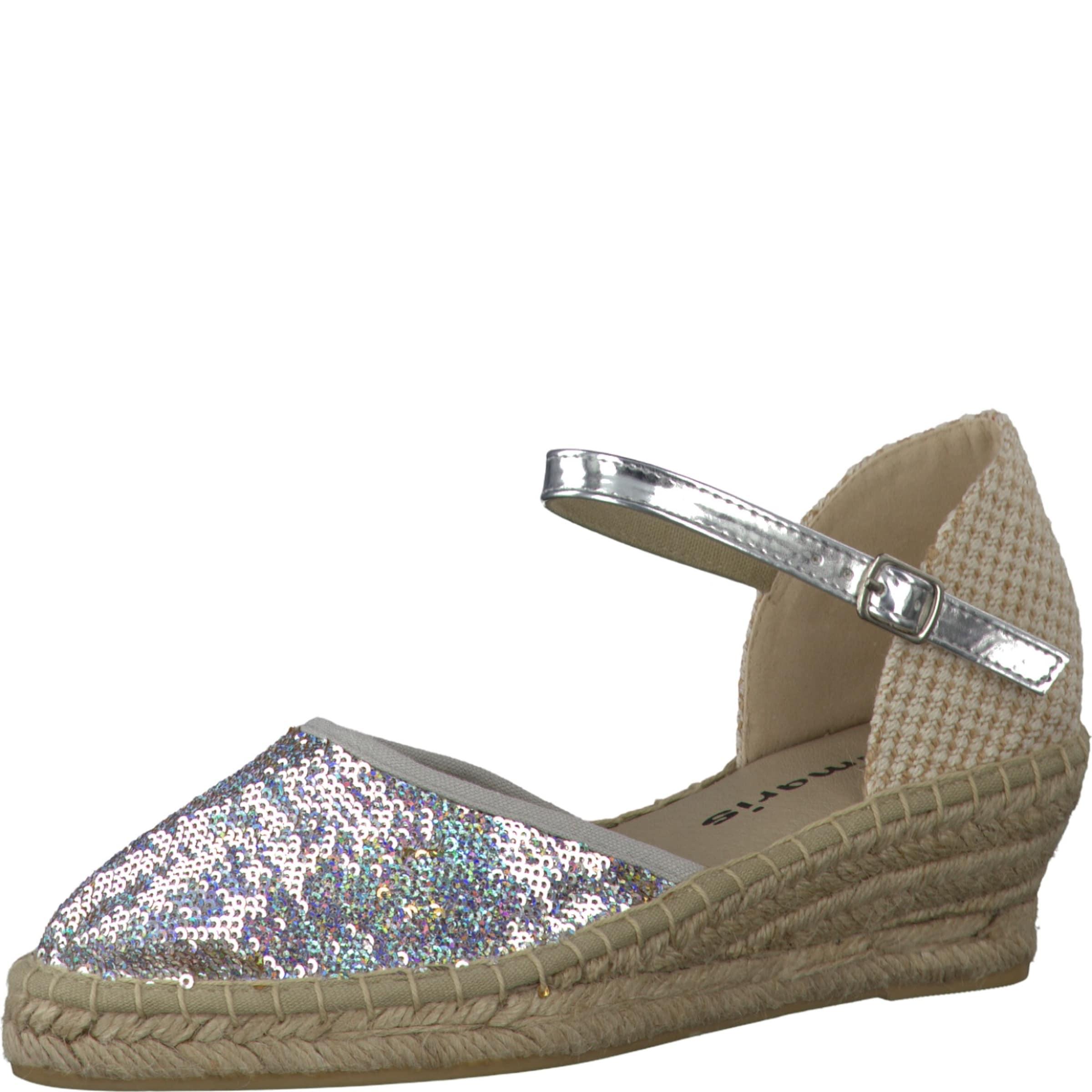 Haltbare Mode billige Schuhe TAMARIS | Espadrilles 'Pailletten' Schuhe Gut getragene Schuhe