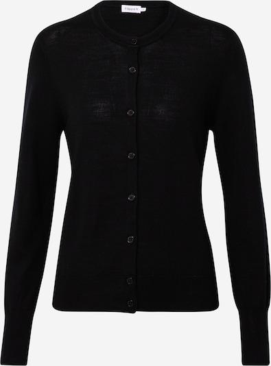 Filippa K Gebreid vest 'Merino' in de kleur Zwart, Productweergave