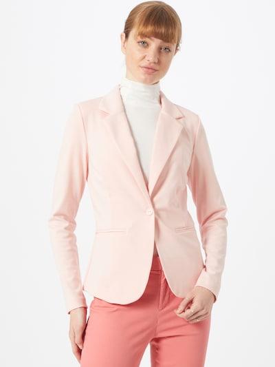 Blazer švarkas 'Kate' iš ICHI , spalva - rožių spalva, Modelio vaizdas
