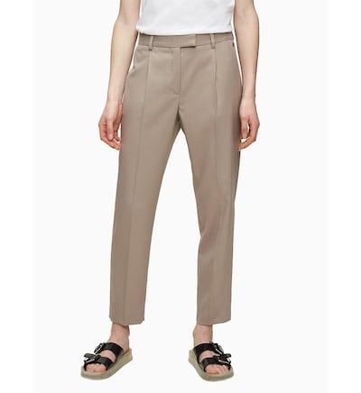 Calvin Klein Hose in hellbeige, Modelansicht