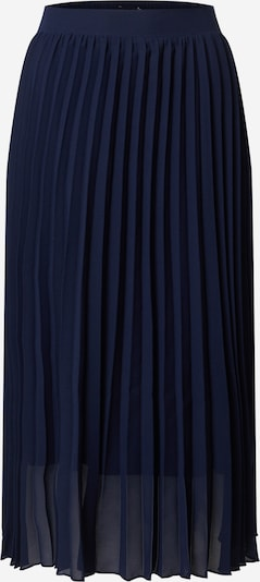 Dorothy Perkins Midi-Rock 'PLEATED' in navy, Produktansicht
