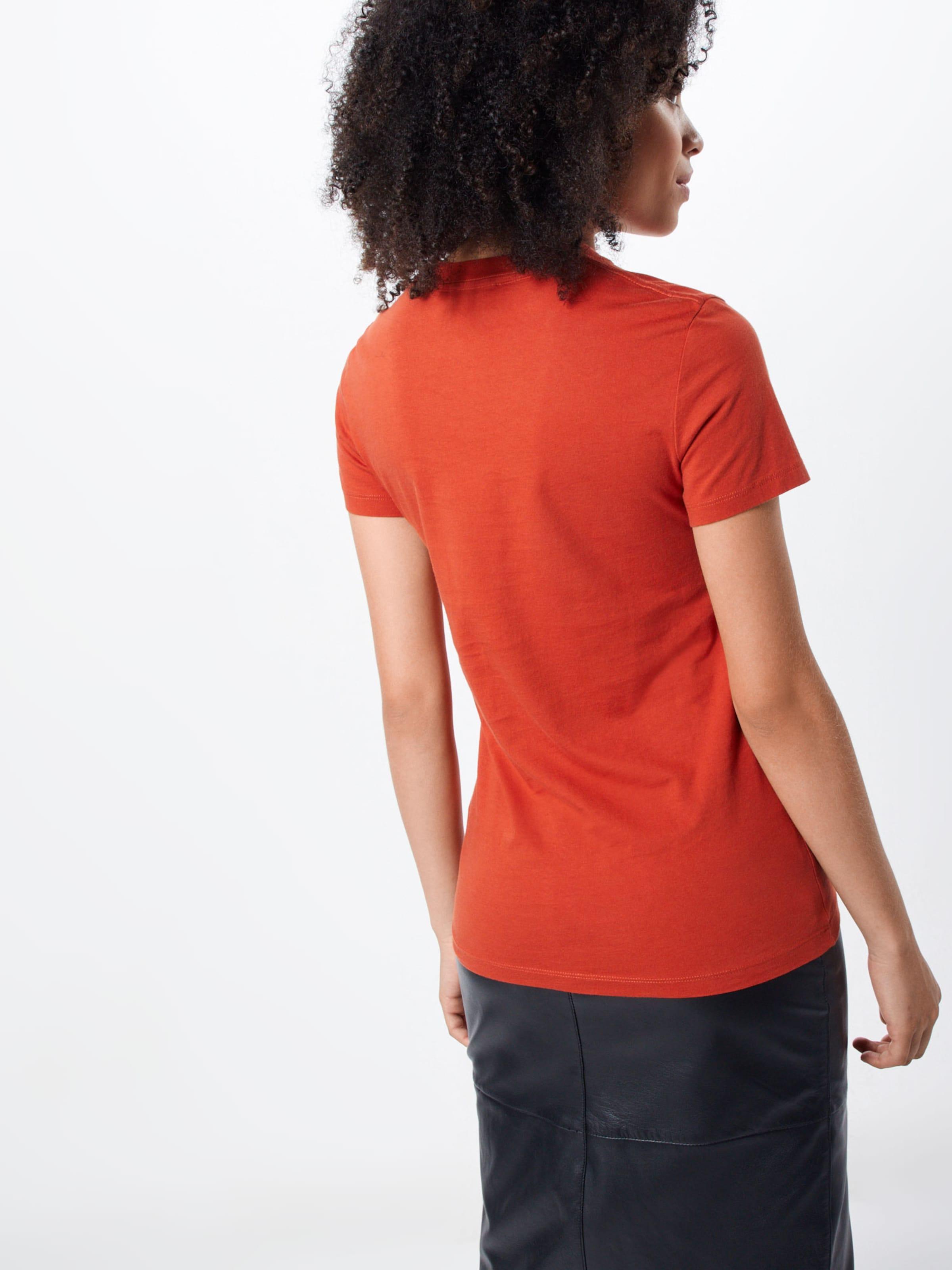 shirt Rouge T Wood 'eden' En trQshdC