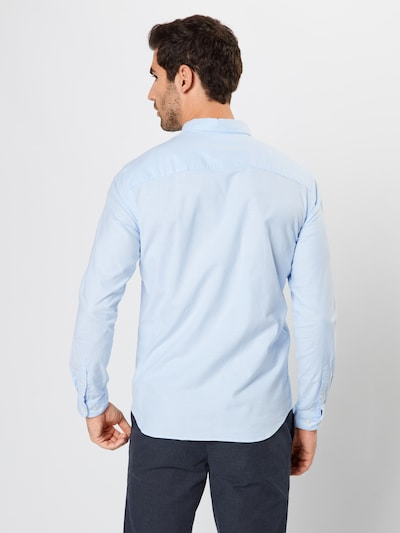 JACK & JONES Hemd 'JPRLOGO STRETCH SHIRT L/S NOOS' in hellblau: Rückansicht