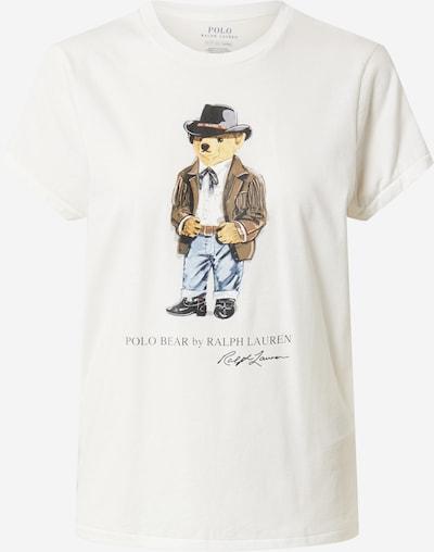 POLO RALPH LAUREN T-Shirt in hellbeige / mischfarben, Produktansicht
