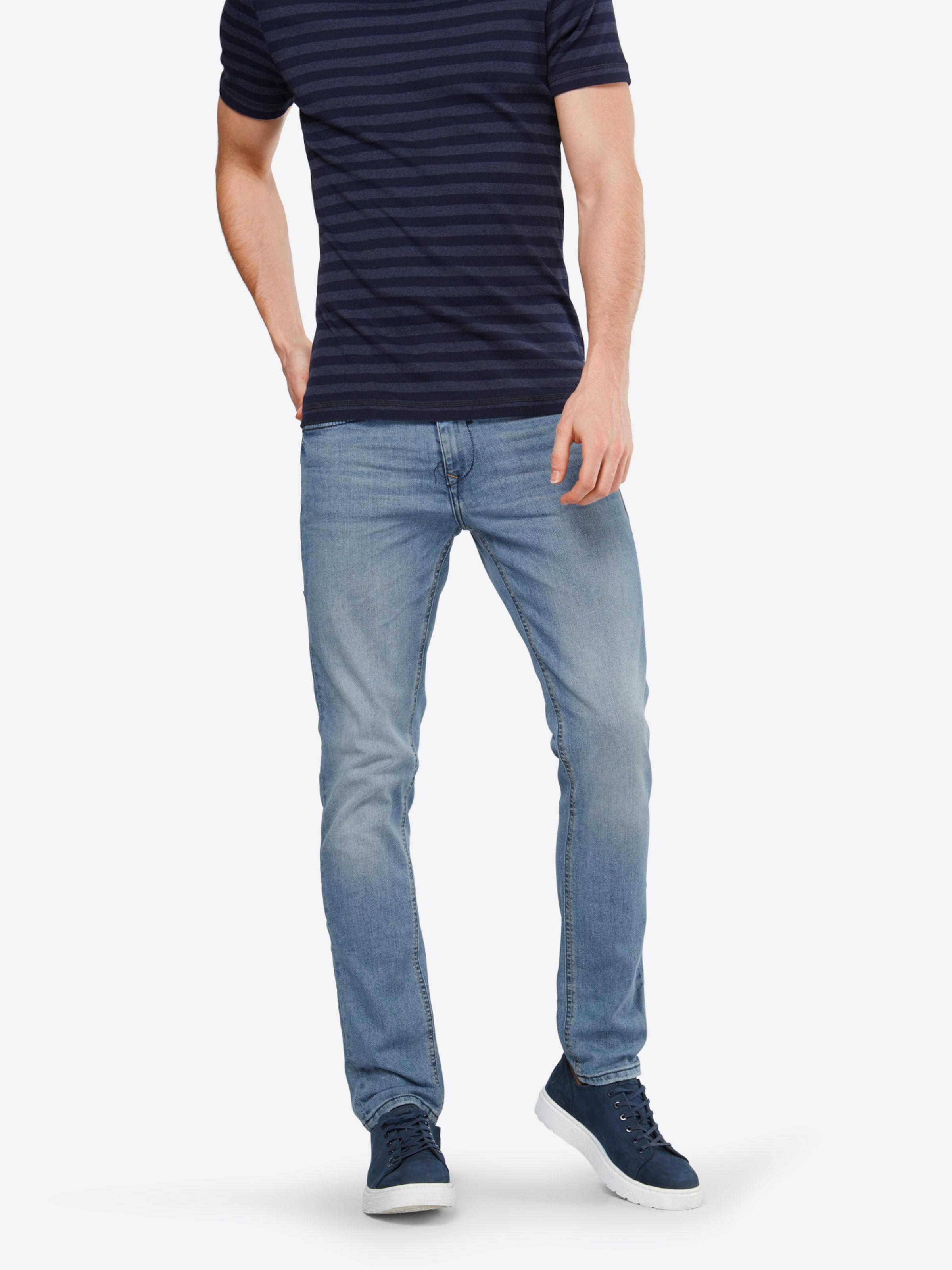 Slim Jean 'twister Blend En Bleu Denim Straight' 0wmN8n