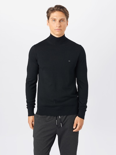 fekete Calvin Klein Pulóver: Elölnézet