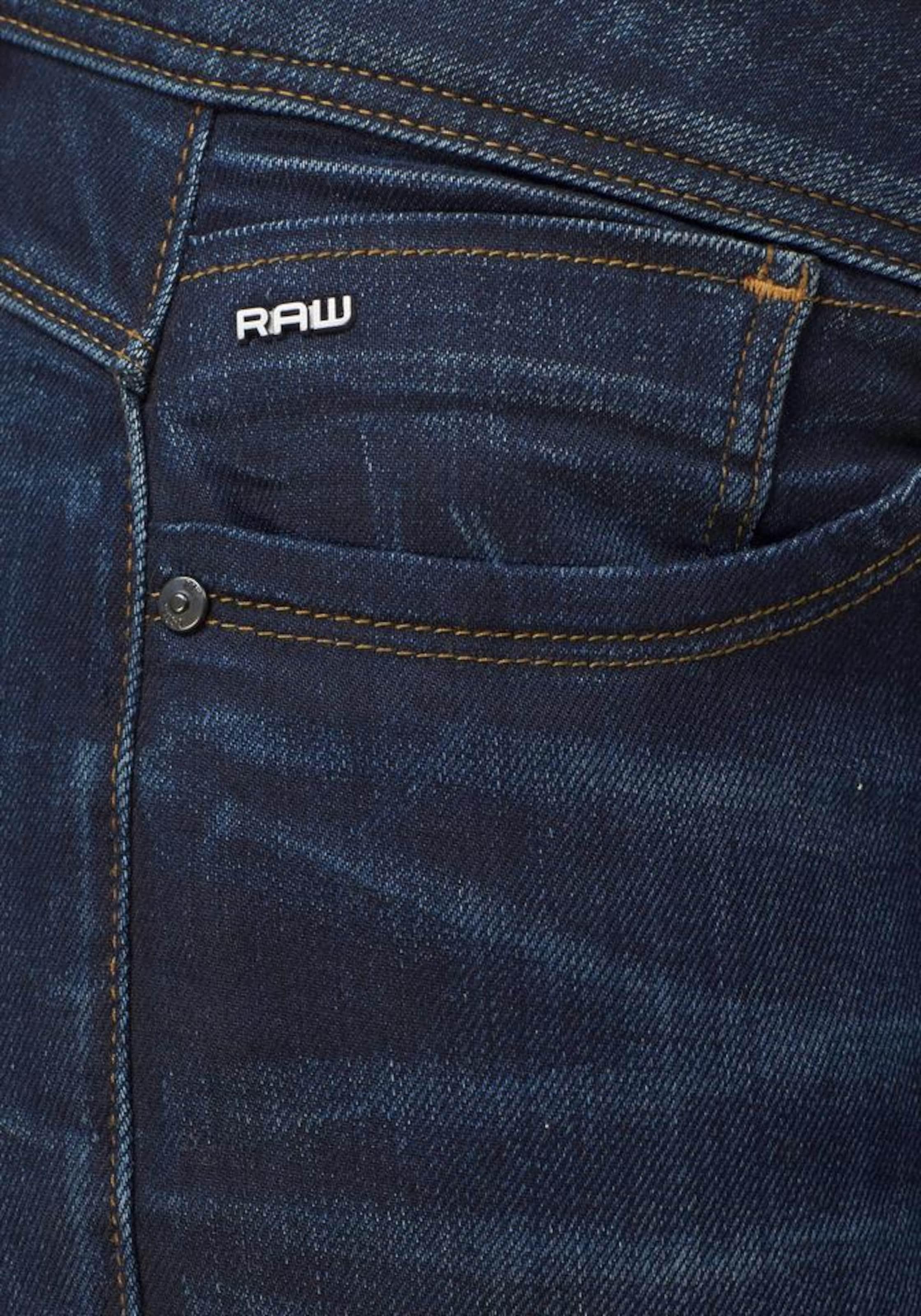 Raw G 'lynn' Jeans Nachtblauw star In FK1Jcl