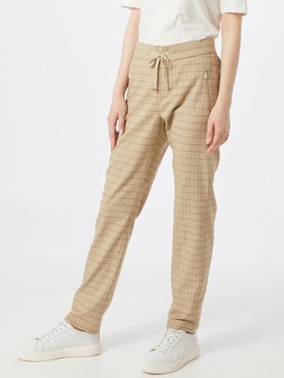 MOS MOSH Kalhoty 'Gabbi' - béžová / černá, Model/ka