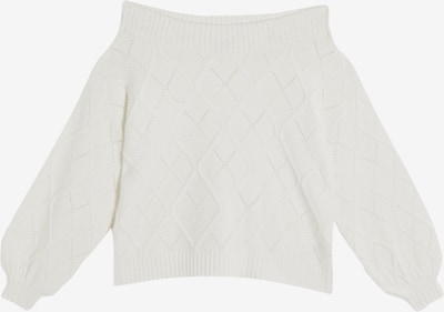 Miss Selfridge Pullover 'Pointelle' in offwhite, Produktansicht