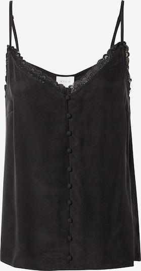 VILA Top 'Khloe' in schwarz, Produktansicht
