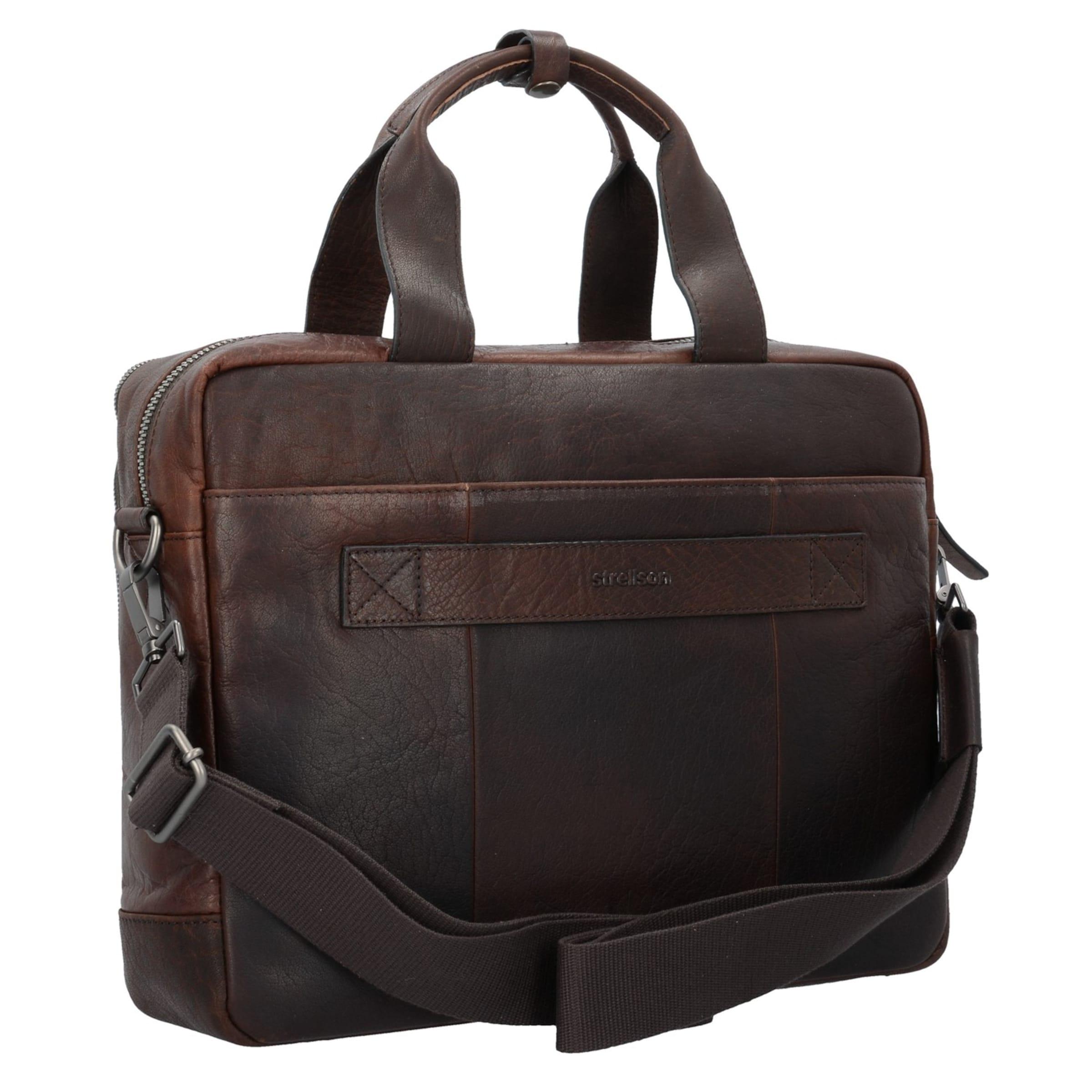 Freies Verschiffen Niedrig Kosten STRELLSON Coleman Aktentasche Leder 38 cm Laptopfach Ausverkaufs-Shop Rabatte Online N8mgq2