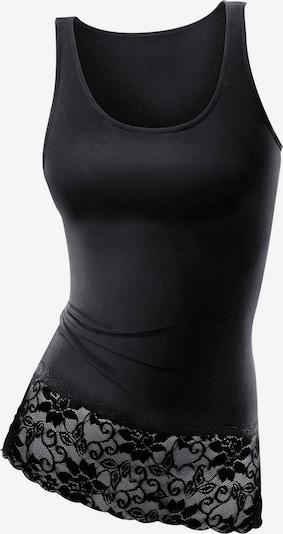 LASCANA Longtop in schwarz, Produktansicht