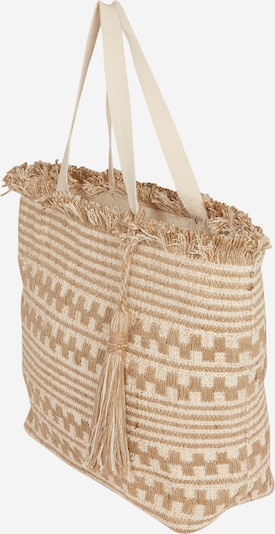 Dorothy Perkins Shopper 'Beach' in de kleur Beige / Offwhite, Productweergave