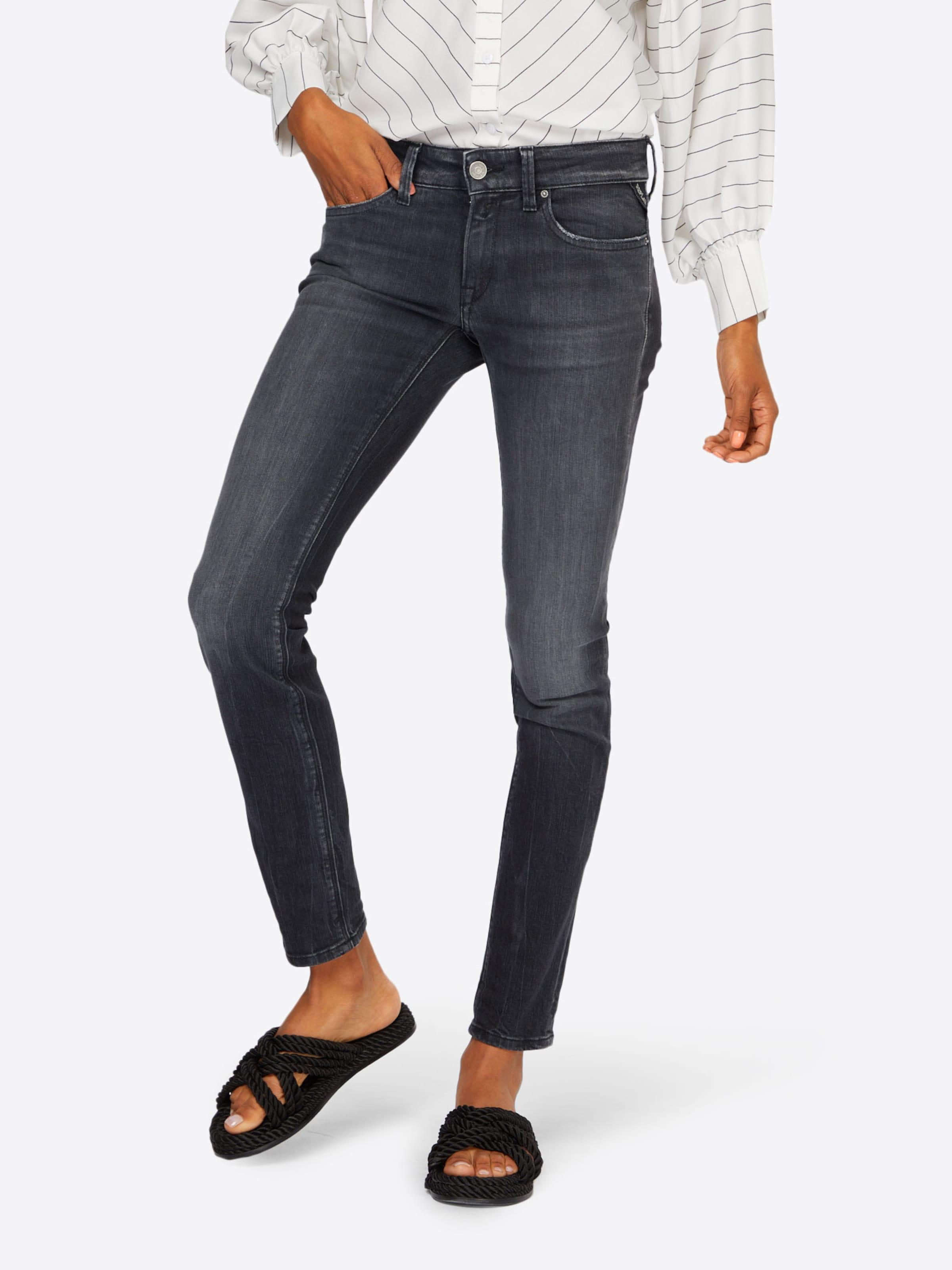 Jeans Denim In Replay 'luz' Grey hrQdsCxt
