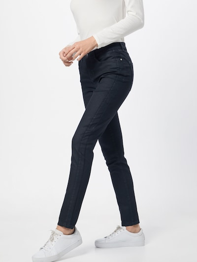 OPUS Jeans 'Emily' in oliv, Modelansicht