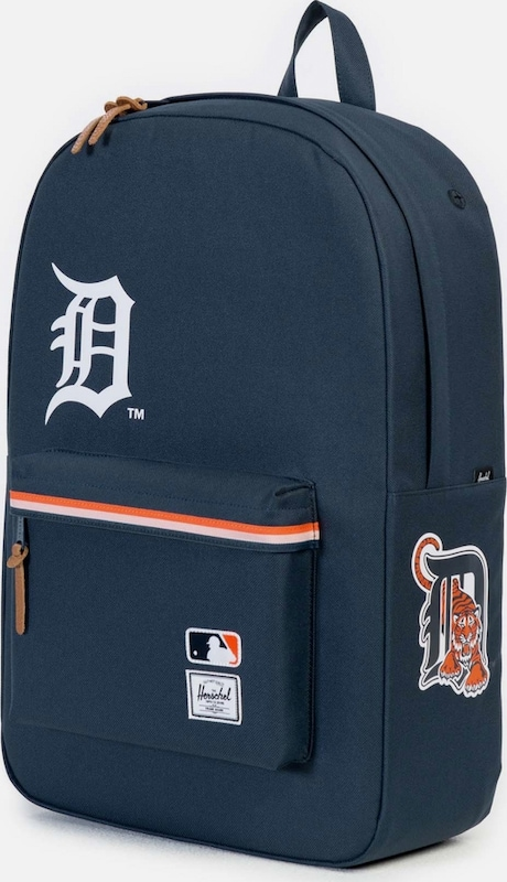 Herschel Rucksack mit Laptopfach 'Heritage, MLB Detroit Tigers'