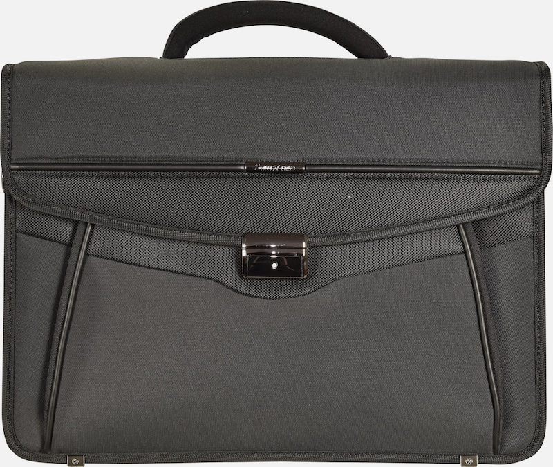 SAMSONITE Desklite Aktentasche Briefcase 42 cm Laptopfach