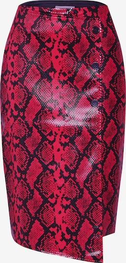 Sijonas 'Saga' iš modström , spalva - tamsiai raudona / juoda, Prekių apžvalga