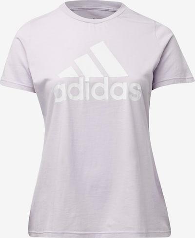 ADIDAS PERFORMANCE T-Shirt in pastelllila / weiß, Produktansicht
