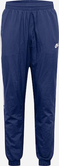 Nike Sportswear Hose in navy / weiß: Frontalansicht