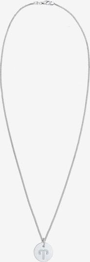 ELLI Ketting 'Widder' in de kleur Zilver: Vooraanzicht