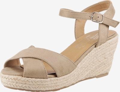 TOM TAILOR Sandalette in beige / camel, Produktansicht