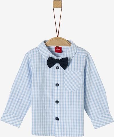s.Oliver Junior Hemd in hellblau / weiß, Produktansicht