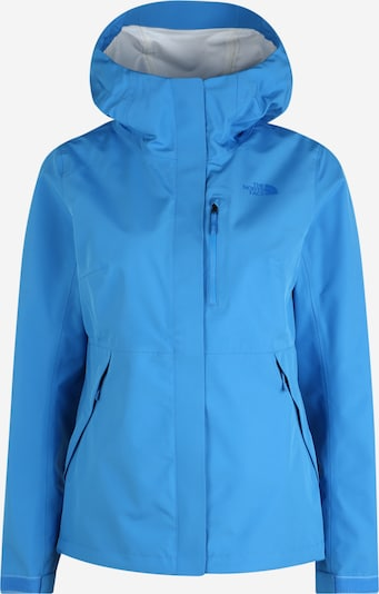 THE NORTH FACE Regenjacke 'Dryzzle' in blau, Produktansicht