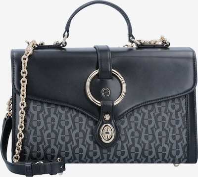AIGNER Handtasche 'Fiorentina' 26cm in anthrazit / schwarz, Produktansicht