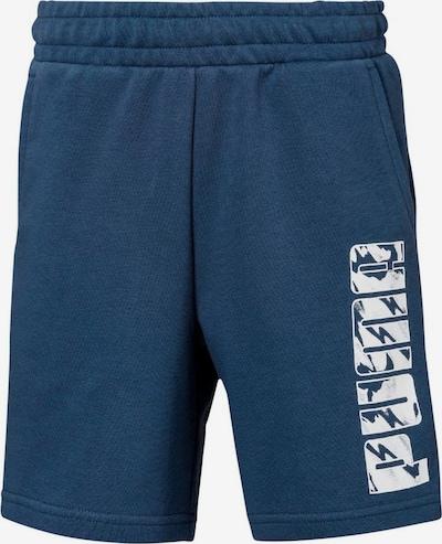 PUMA Shorts in blau / weiß, Produktansicht
