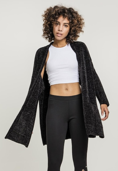 Urban Classics Cardigan in schwarz, Modelansicht