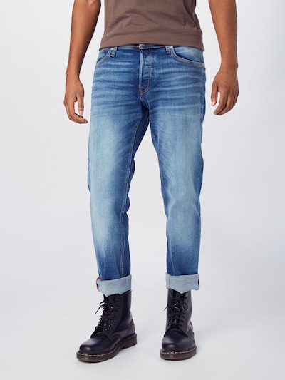 JACK & JONES Jeans 'IMIKE' in blue denim, Modelansicht
