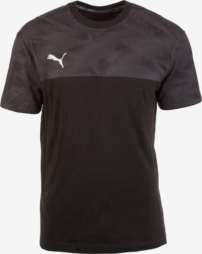PUMA Trainingsshirt in basaltgrau / schwarz, Produktansicht