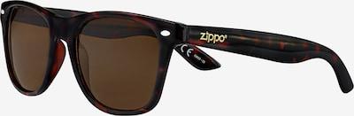 ZIPPO Sonnenbrille 'Brown Flash' in braun, Produktansicht