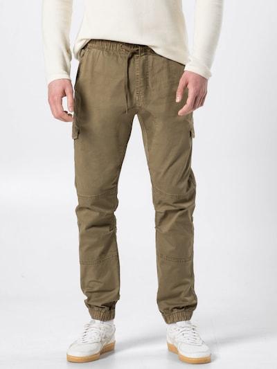 Laisvo stiliaus kelnės 'Levy' iš INDICODE JEANS , spalva - rusvai žalia, Modelio vaizdas