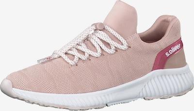 s.Oliver Sneaker in pink / hellpink / weiß, Produktansicht