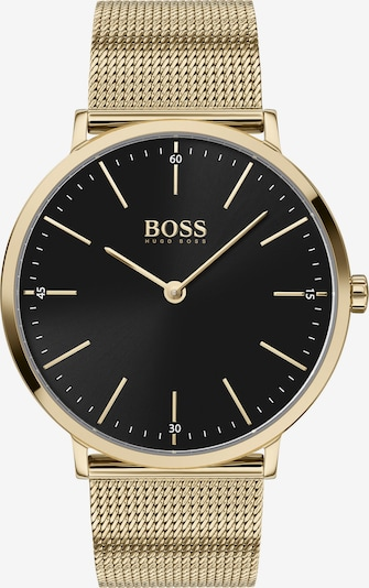 BOSS Uhr in gold / schwarz, Produktansicht