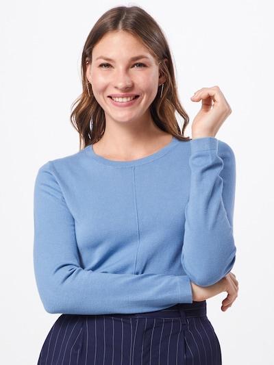 Megztinis 'Liz' iš BRAX , spalva - mėlyna dūmų spalva: Vaizdas iš priekio