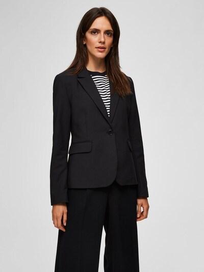 SELECTED FEMME Blazer in schwarz, Modelansicht
