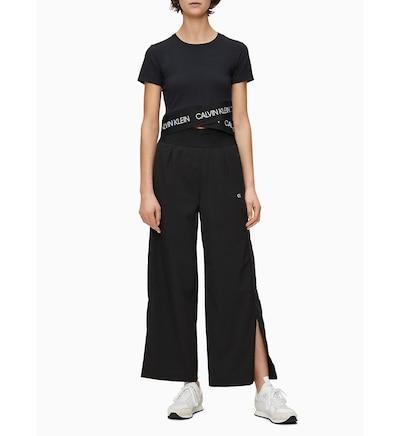 Calvin Klein Hose in schwarz, Modelansicht