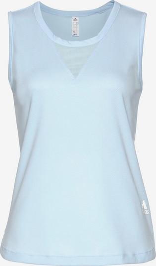 ADIDAS PERFORMANCE T-shirt fonctionnel en bleu clair, Vue avec produit