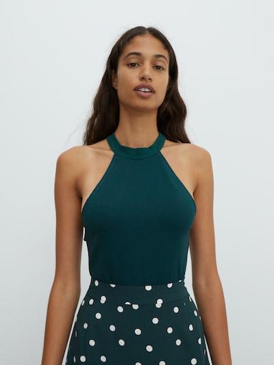 EDITED Top 'Pamela' u smaragdno zelena, Prikaz modela