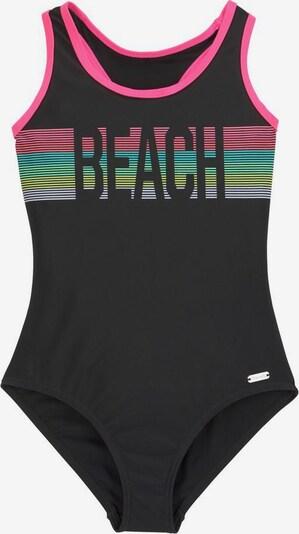 BENCH Badeanzug in türkis / neongelb / mint / pastelllila / pink / schwarz, Produktansicht