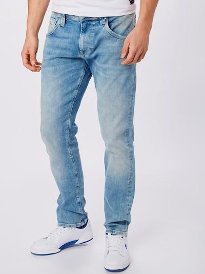 Pepe Jeans Teksapüksid 'Zinc' sinine denim, Modellivaade