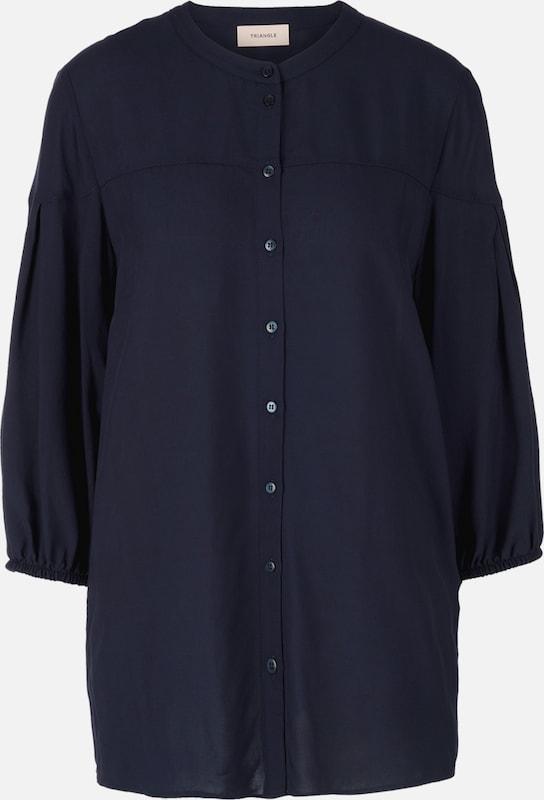TRIANGLE Blause in kobaltblau  Mode neue Kleidung